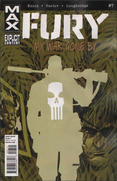 Cover for Fury Max (Marvel, 2012 series) #7