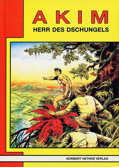 Cover for Akim  Herr des Dschungels (Norbert Hethke Verlag, 1987 series) #8