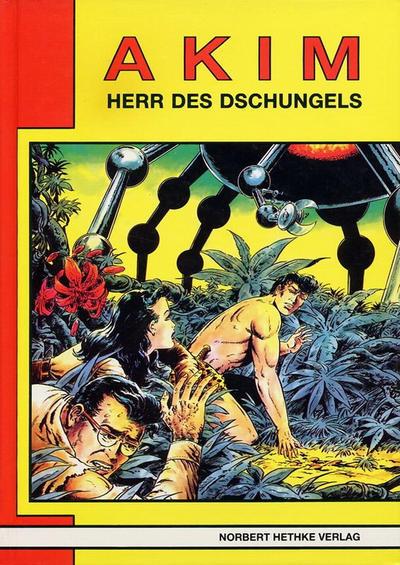 Cover for Akim  Herr des Dschungels (Norbert Hethke Verlag, 1987 series) #9