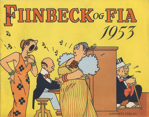 Cover for Fiinbeck og Fia (Hjemmet / Egmont, 1930 series) #1953