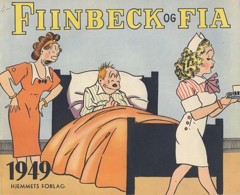 Cover for Fiinbeck og Fia (Hjemmet, 1930 series) #1949