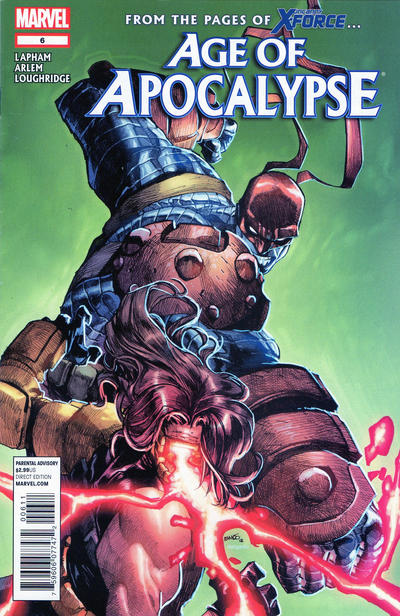 Cover for Age of Apocalypse (Marvel, 2012 series) #6