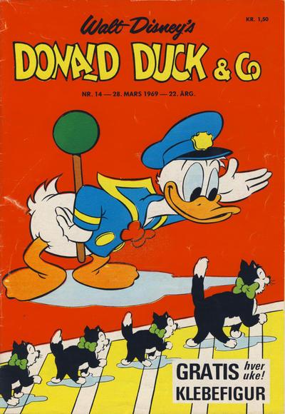 Cover for Donald Duck & Co (Hjemmet / Egmont, 1948 series) #14/1969