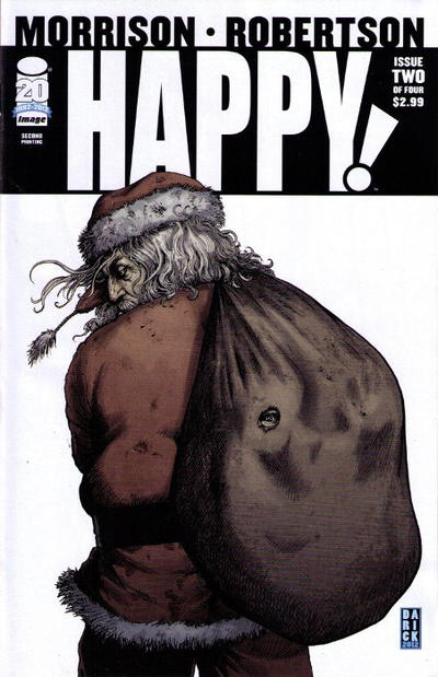 Cover for Happy! (Image, 2012 series) #2 [Cover A Darick Robertson]