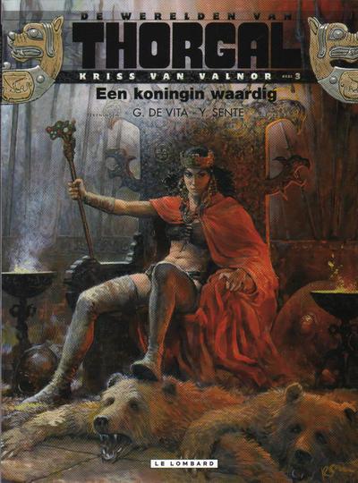 Cover for De werelden van Thorgal Kriss van Valnor (Le Lombard, 2010 series) #3 - Een koningin waardig