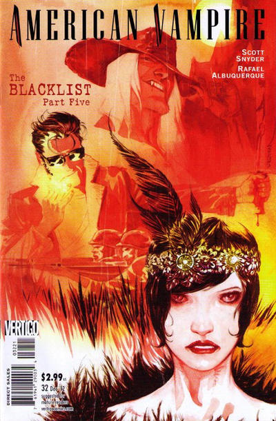 Cover for American Vampire (DC, 2010 series) #32