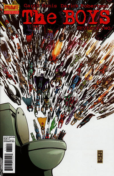 Cover for The Boys (Dynamite Entertainment, 2007 series) #72