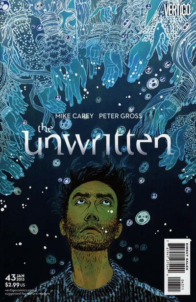 Cover for The Unwritten (DC, 2009 series) #43