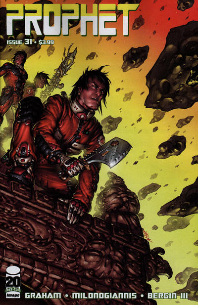 Cover for Prophet (Image, 2012 series) #31