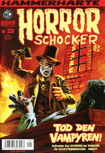 Cover for Horrorschocker (Weissblech Comics, 2004 series) #29
