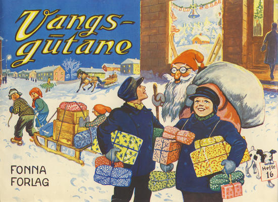 Cover for Vangsgutane (Fonna Forlag, 1941 series) #16
