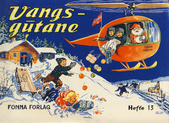 Cover for Vangsgutane (Fonna Forlag, 1941 series) #13