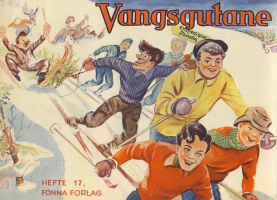 Cover for Vangsgutane (Fonna Forlag, 1941 series) #17