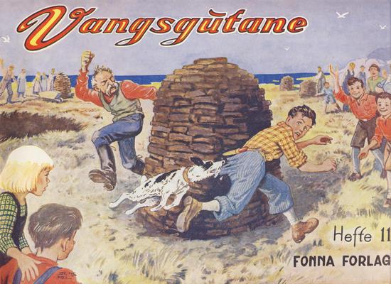Cover for Vangsgutane (Fonna Forlag, 1941 series) #11