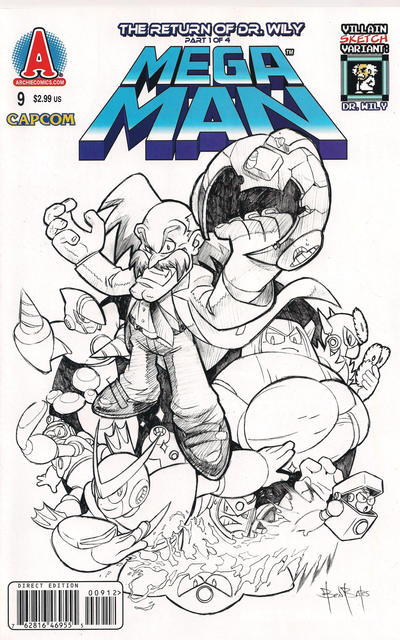 Cover for Mega Man (Archie, 2011 series) #9