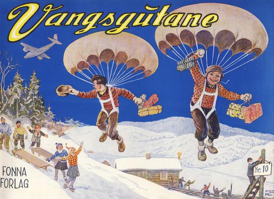 Cover for Vangsgutane (Fonna Forlag, 1941 series) #10