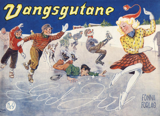 Cover for Vangsgutane (Fonna Forlag, 1941 series) #9