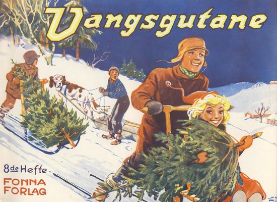 Cover for Vangsgutane (Fonna Forlag, 1941 series) #8