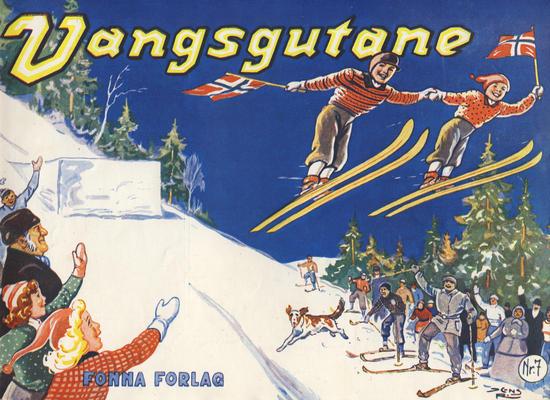 Cover for Vangsgutane (Fonna Forlag, 1941 series) #7