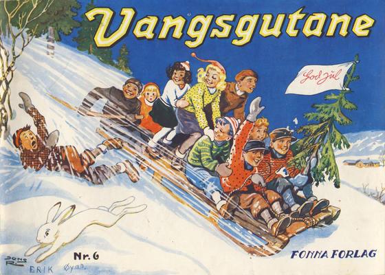 Cover for Vangsgutane (Fonna Forlag, 1941 series) #6