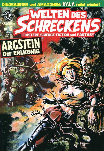 Cover for Welten des Schreckens (Weissblech Comics, 2009 series) #5