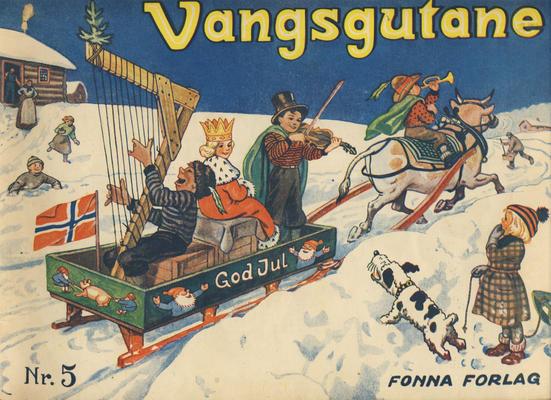 Cover for Vangsgutane (Fonna Forlag, 1941 series) #5