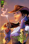 Cover for The Legend of Oz: The Wicked West (Big Dog Ink, 2011 series) #6 [Cover A by Alisson Borges]