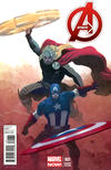 Cover Thumbnail for Avengers (2013 series) #1 [Variant Cover by Esad Ribic]