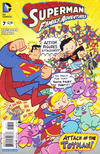 Cover for Superman Family Adventures (DC, 2012 series) #7