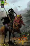 Cover for The Legend of Oz: The Wicked West (Big Dog Ink, 2011 series) #4 [Cover B by Nei Ruffino]