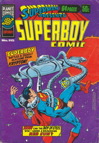 Cover Thumbnail for Superman Presents Superboy Comic (K. G. Murray, 1976 ? series) #115