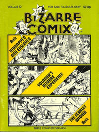 Cover Thumbnail for Bizarre Comix (Bélier Press, 1975 series) #12 - Kidnapped and Enslaved; Yolanda's Bizarre Experience; The Scarlet Widow