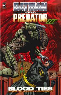 Cover Thumbnail for Batman versus Predator III: Blood Ties (Titan, 1998 series)