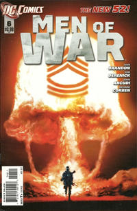 Cover Thumbnail for Men of War (DC, 2011 series) #6