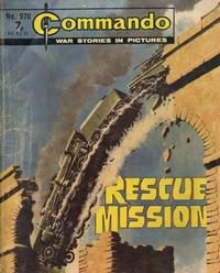 Cover for Commando (D.C. Thomson, 1961 series) #970