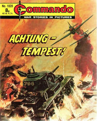 Cover for Commando (D.C. Thomson, 1961 series) #1028