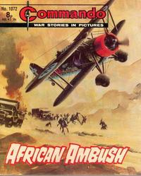 Cover for Commando (D.C. Thomson, 1961 series) #1072
