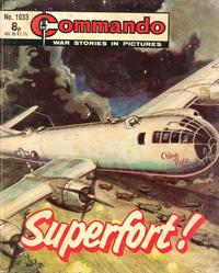 Cover Thumbnail for Commando (D.C. Thomson, 1961 series) #1033