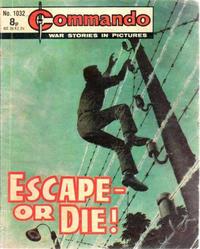 Cover Thumbnail for Commando (D.C. Thomson, 1961 series) #1032