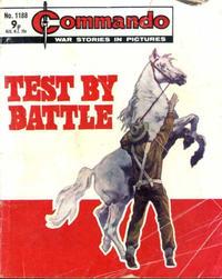 Cover Thumbnail for Commando (D.C. Thomson, 1961 series) #1188