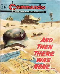 Cover Thumbnail for Commando (D.C. Thomson, 1961 series) #1273