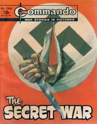 Cover Thumbnail for Commando (D.C. Thomson, 1961 series) #1344