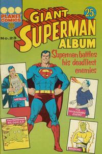 Cover Thumbnail for Giant Superman Album (K. G. Murray, 1963 ? series) #23