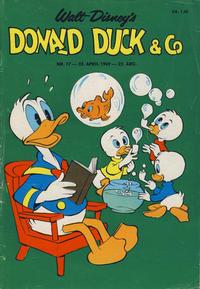 Cover for Donald Duck & Co (Hjemmet / Egmont, 1948 series) #17/1969