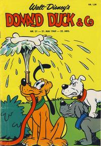Cover Thumbnail for Donald Duck & Co (Hjemmet / Egmont, 1948 series) #21/1969