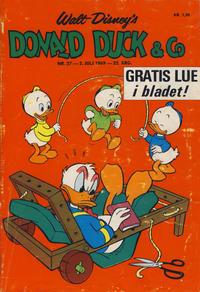 Cover Thumbnail for Donald Duck & Co (Hjemmet / Egmont, 1948 series) #27/1969