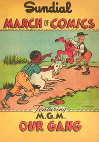Cover Thumbnail for March of Comics (Western, 1946 series) #[3] [Sundial variant]