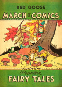 Cover Thumbnail for March of Comics (Western, 1946 series) #6 [Red Goose variant]