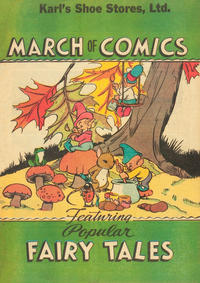 Cover Thumbnail for March of Comics (Western, 1946 series) #6 [Karl's Shoe Stores variant]
