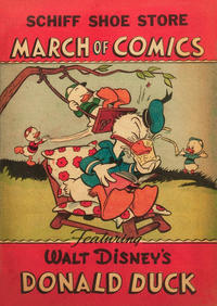 Cover Thumbnail for March of Comics (Western, 1946 series) #20 [Schiff Shoe Store variant]